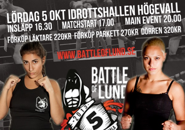 Battle of Lund 5: Ates vs. Alfons