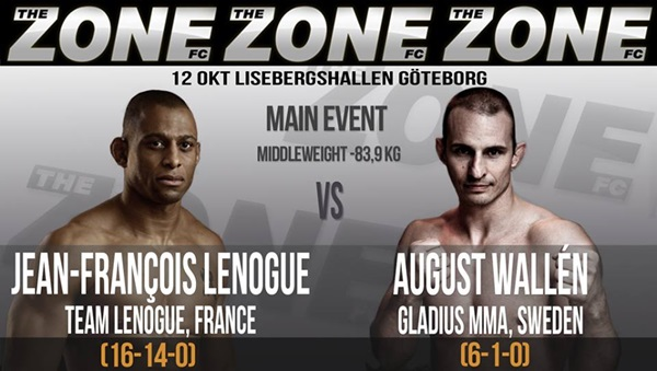 August Wallén vinner i comebacken via rear-naked choke