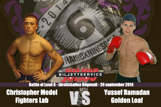 Yussef Ramadan vs. Christopher Medel på Battle of Lund 6