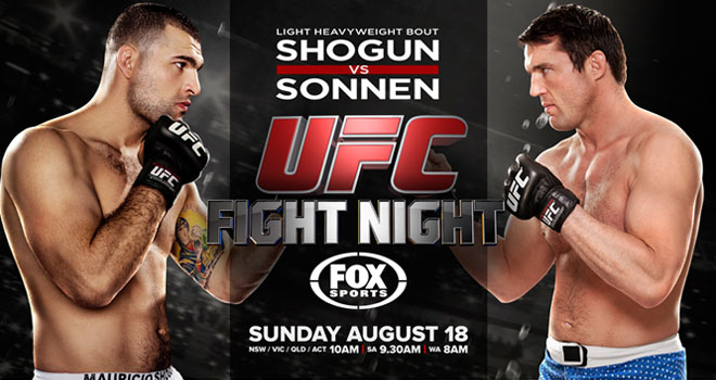 UFC Fight Night 29: Resultat