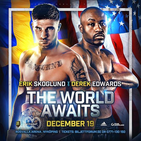 Skoglund vs Edwards: The World Awaits – Matchkort, TV-tider & biljetter
