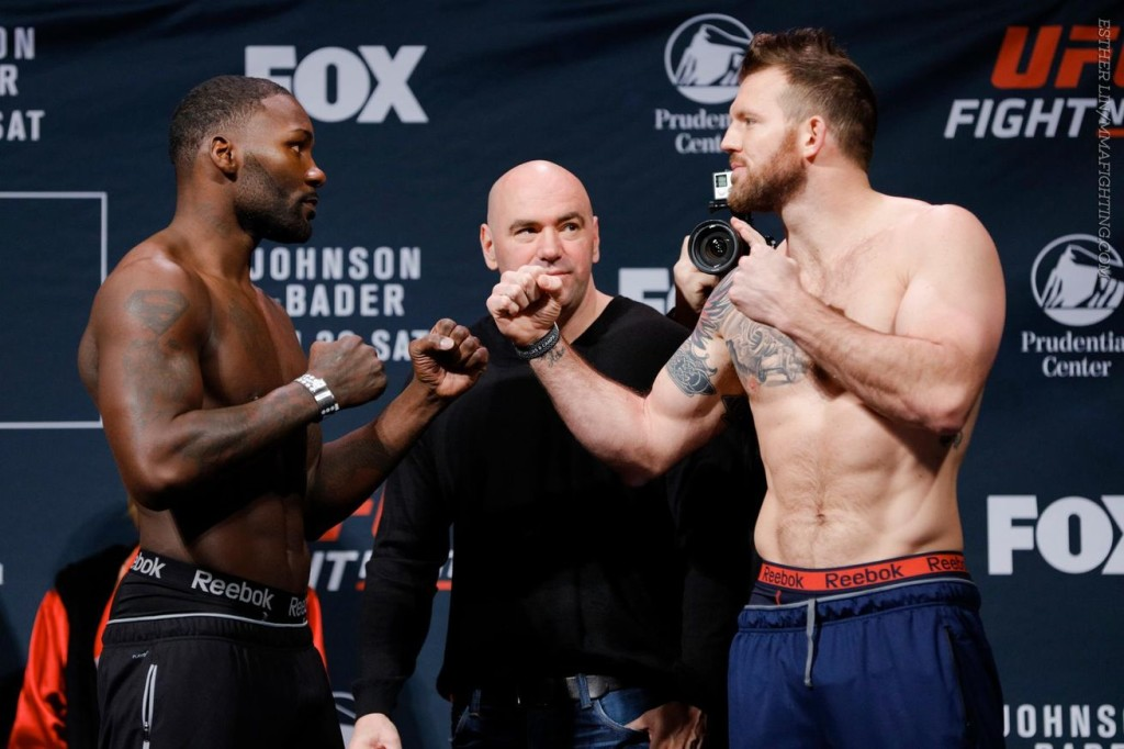 Tider och kanaler för UFC on FOX 18: Johnson vs. Bader