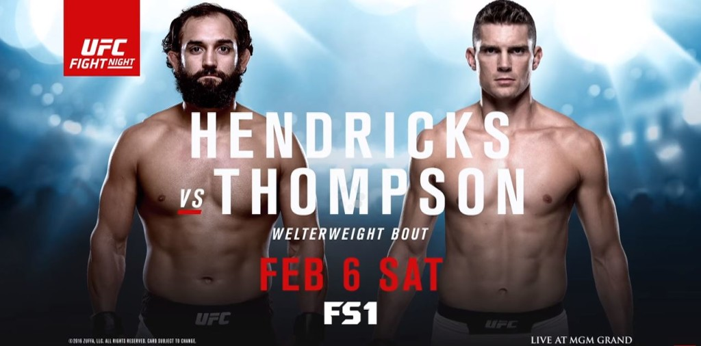 UFC Fight Night 82: Matchkort