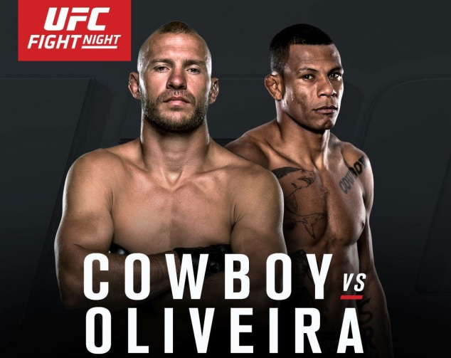 UFC Fight Night 83: Cowboy vs. Cowboy – Matchkort