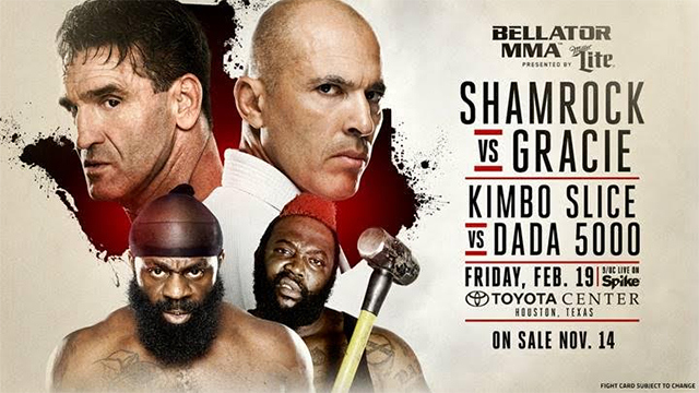 Invägning: Bellator 149 Shamrock vs. Gracie