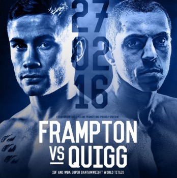 Inför Frampton vs Quigg: TV-tider, Videos, Underkort