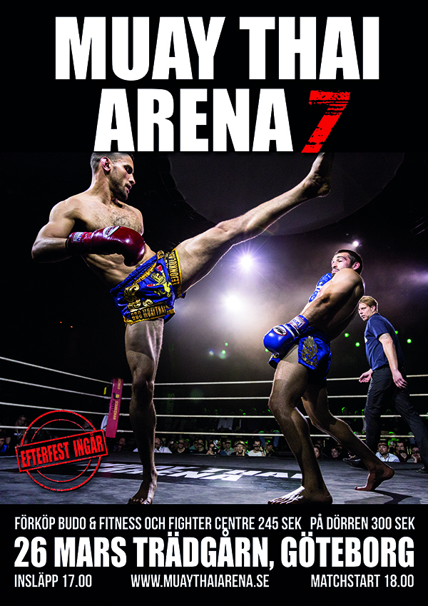 Muay Thai Arena 7 – thaiboxning av internationell klass