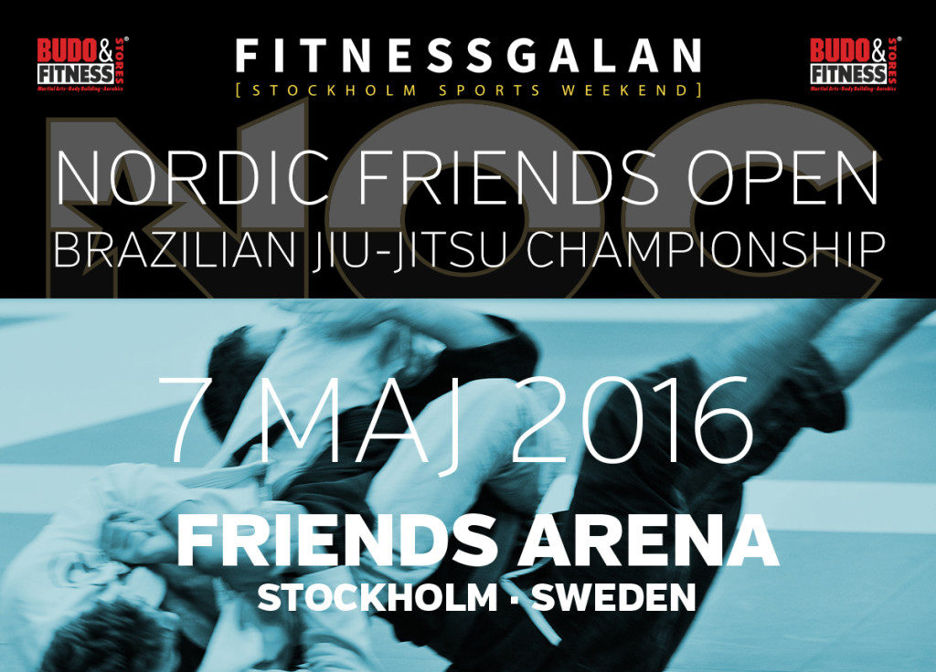 Nordic Friends Open BJJ-gala!!!