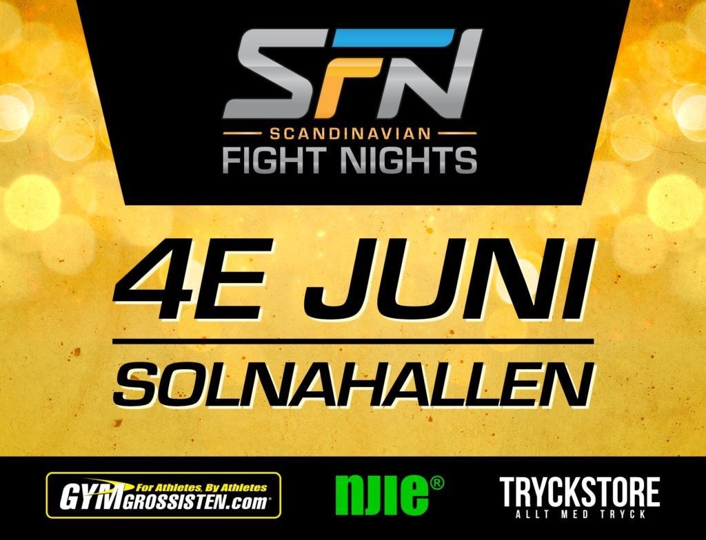 Scandinavian Fight Nights 1 börjar ta form