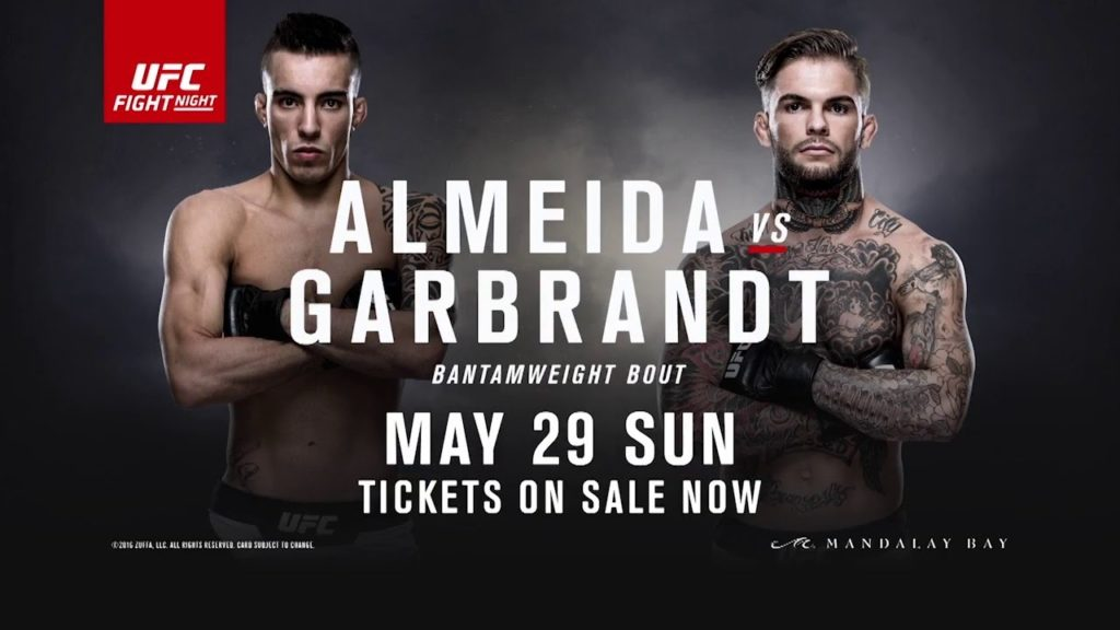 UFC Fight Night 88 – Garbrandt vs. Almeida: Matchkort