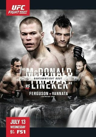 UFC Fight Night 91: Matchkort och tider