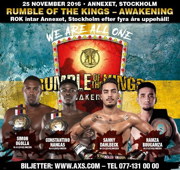 Rumble of the Kings: Awakening – There Can Be Only One