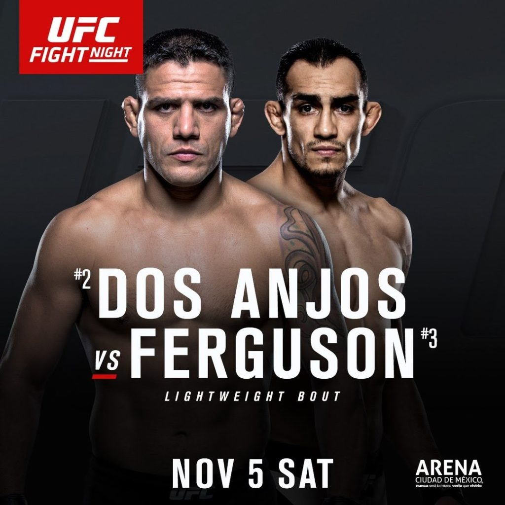 UFC Fight Night 98: Dos Anjos vs. Ferguson – Matchkort & Tider