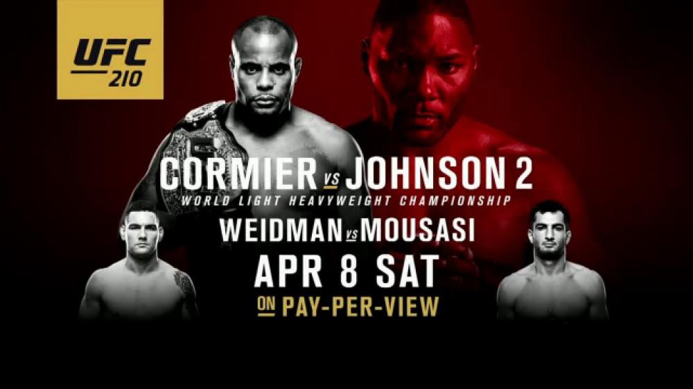 Inför UFC 210: Cormier vs. Johnson II