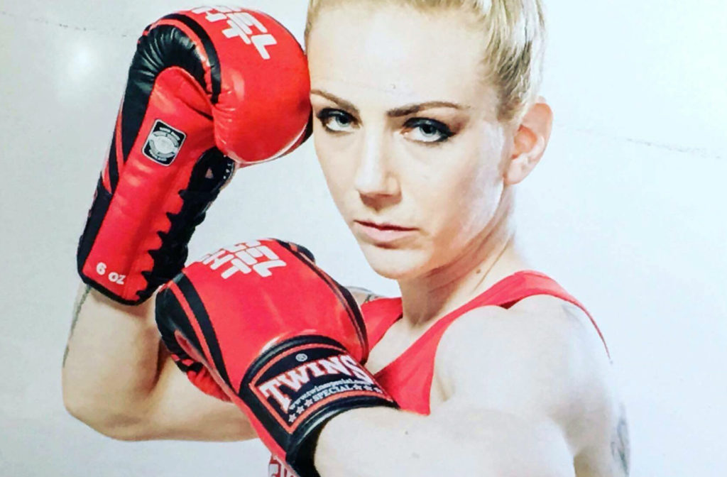 "Sofia Olofsson vann i ""Angel Fight Round 1"""