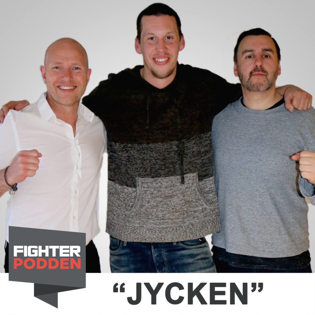 "Fighterpodden avsnitt 18 – Magnus ""Jycken"" Cedenblad"