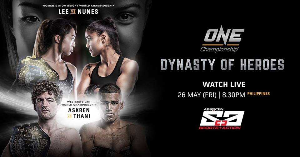 Resultat: ONE Championship 'Dynasty of Heroes'