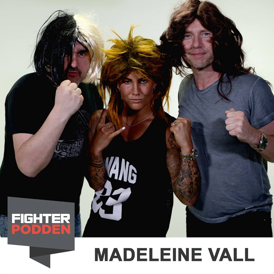 Fighterpodden 21 – Madeleine Vall Beijner