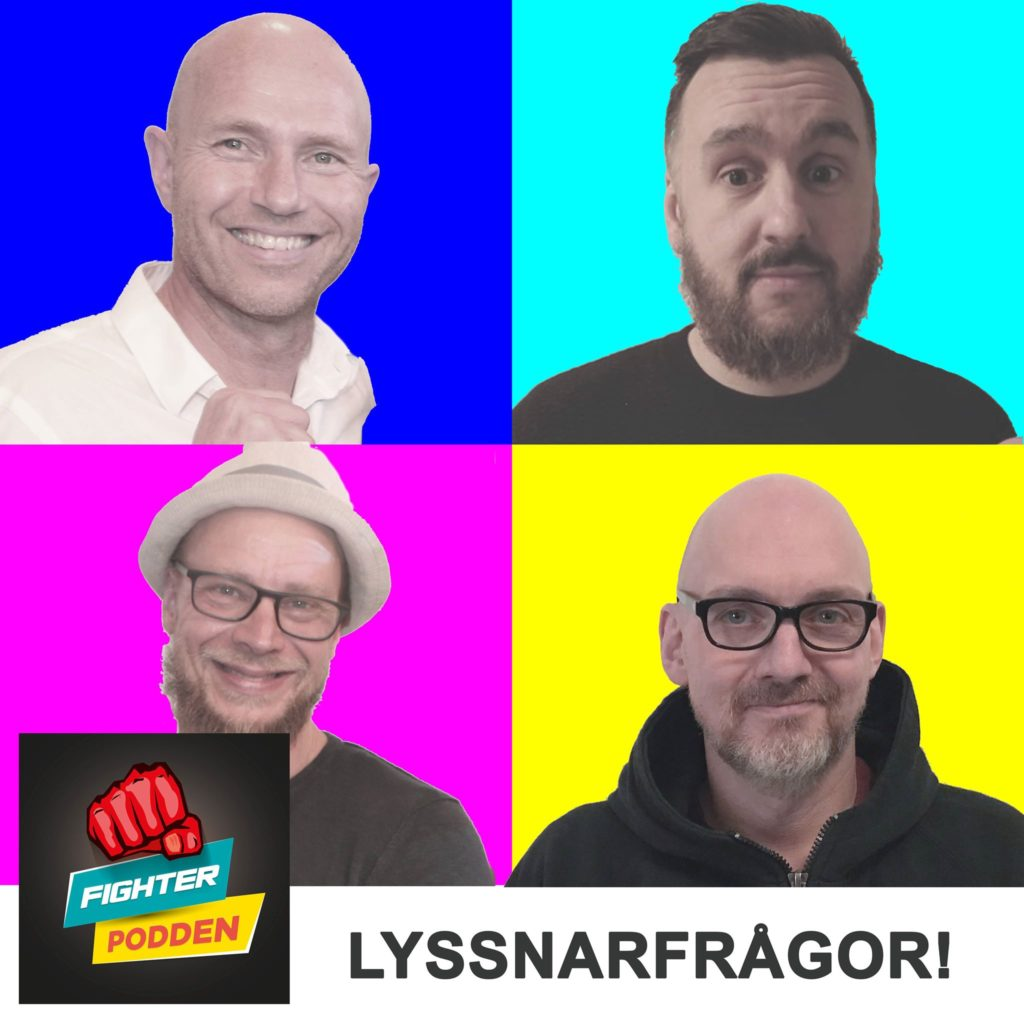 Fighterpodden del 31. Dellögner & Halvsanningar!