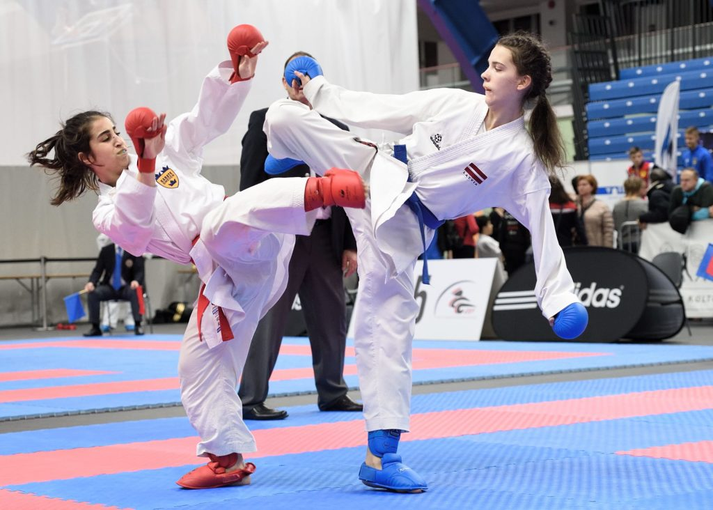 Rekordstort SM i Karate får internationell stjärnglans