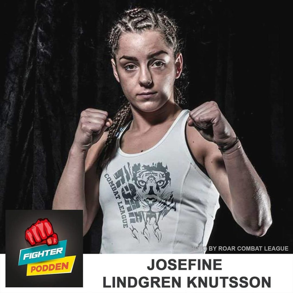 Fighterpodden del 36: Josefine Lindgren Knutsson