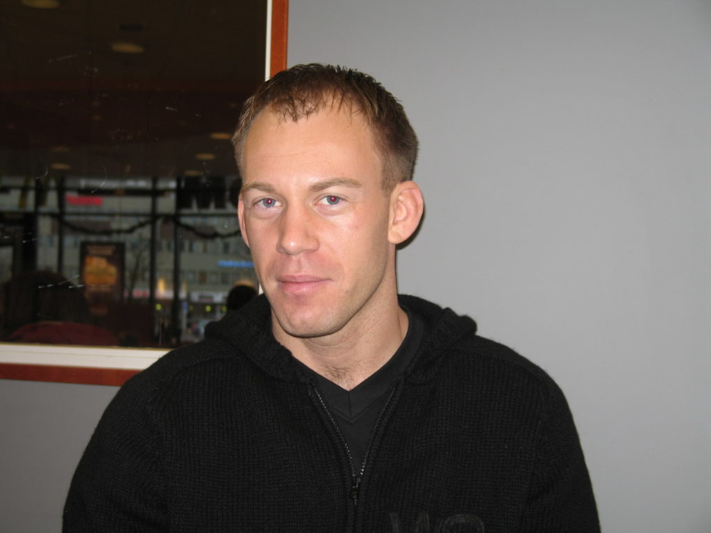 Martin Holm Interview [from AsgardMMA 2006 December 19th]