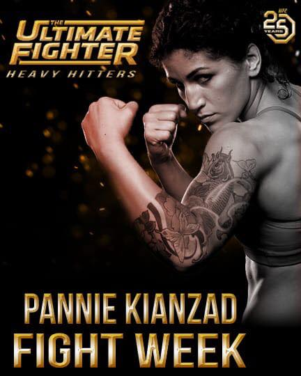 Pannie Kianzads motståndare klar för The Ultimate Fighter 28 Finale