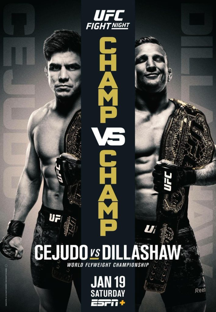 UFC Fight Night 143: Cejudo vs. Dillashaw