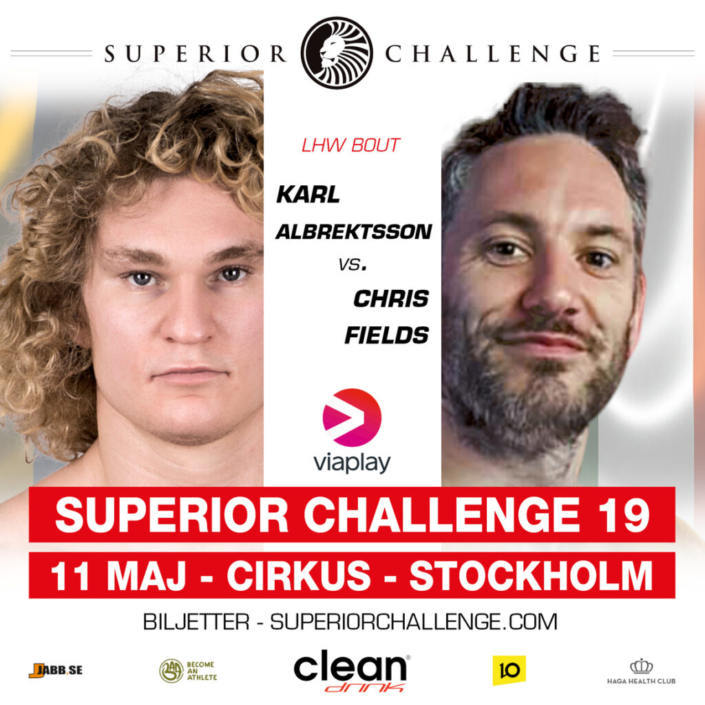 "Superior Challenge 19: ""Kung"" Karl Albrektsson ställs mot ""The Hosewives' Choice"" Chris Fields"