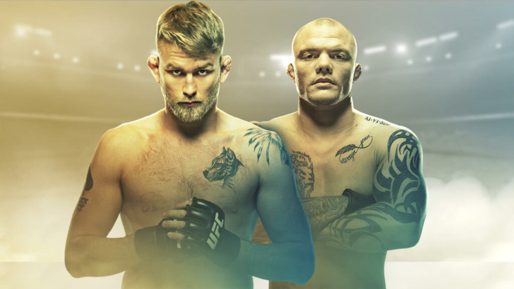 Fightcard och sånt: UFC Fight Night: Gustafsson vs Smith