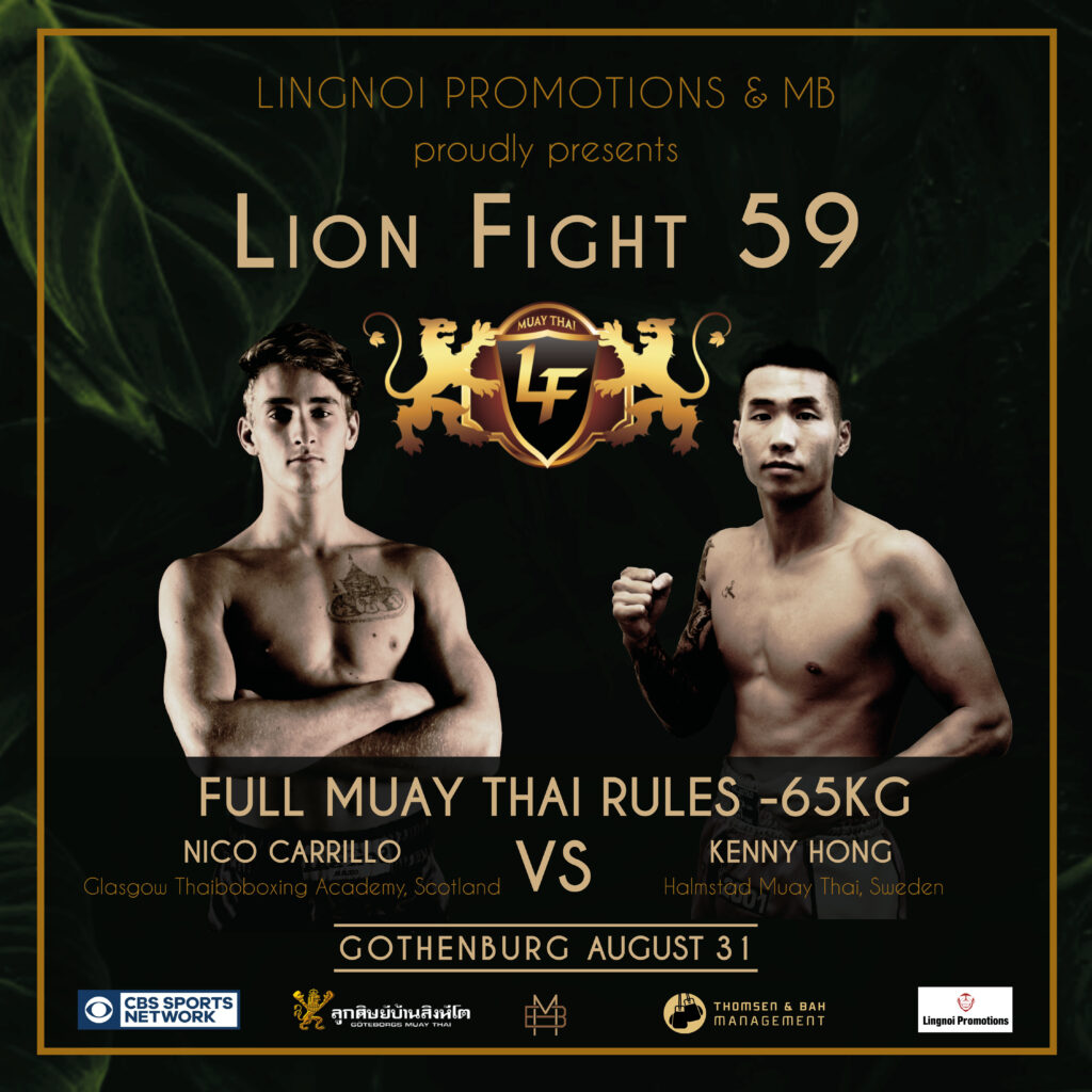 Internationell toppmatch på Lion Fight 59