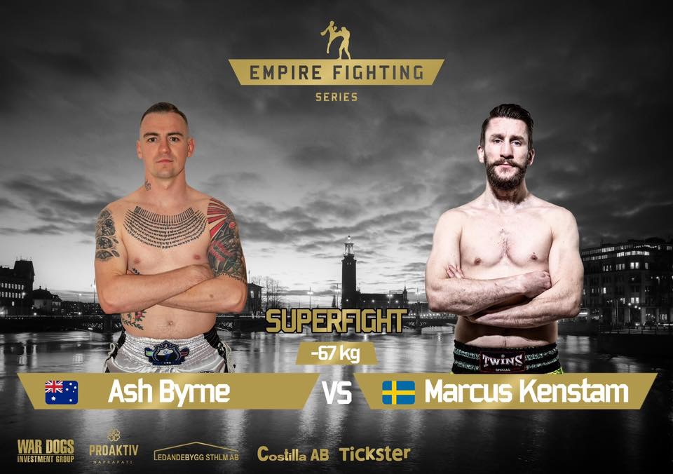 Marcus Kenstam om Empire Fighting Series