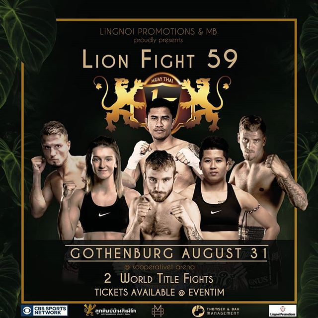 Lion Fight 59 – matchkort och info