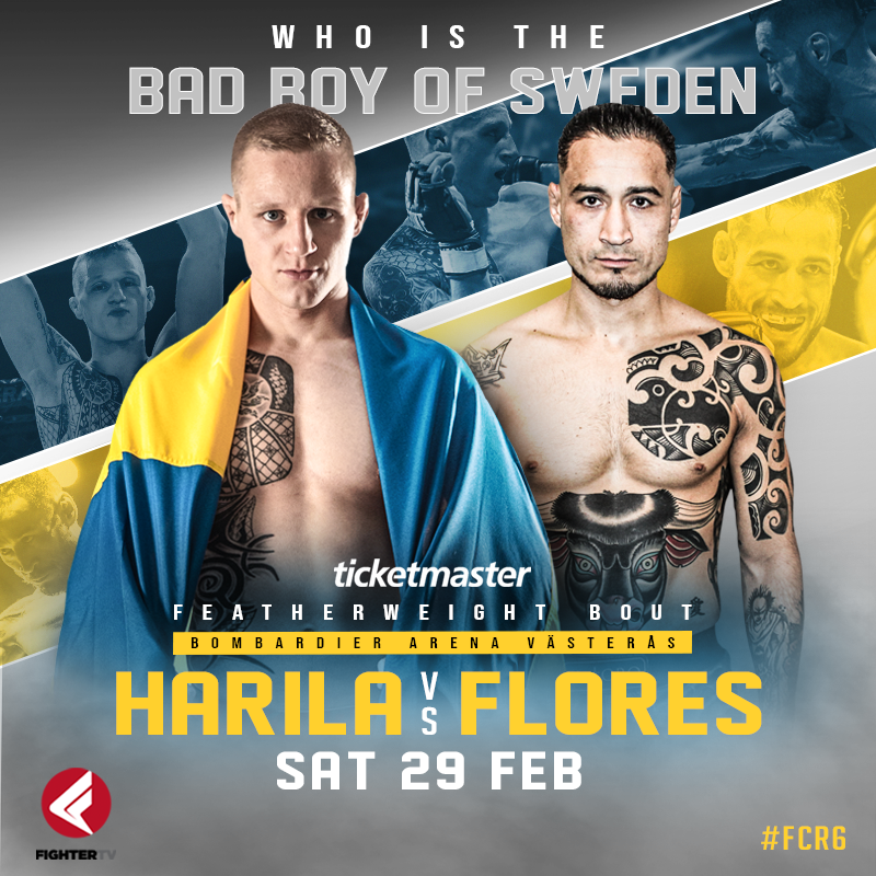 Fight Club Rush 6: Här hittar du matchkort och stream via FighterTV!