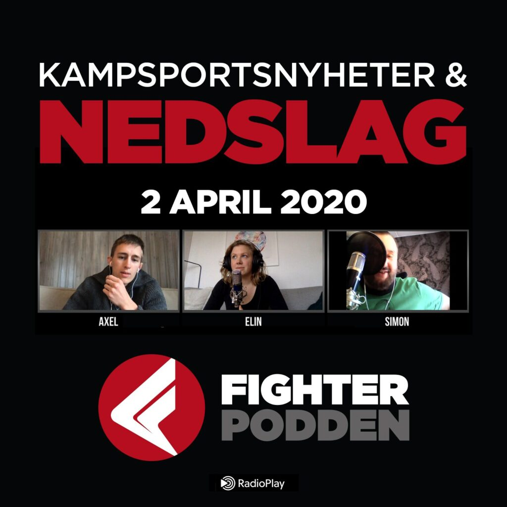 Fighterpodden Nedslag – Jon Jones & Coronaeffekten