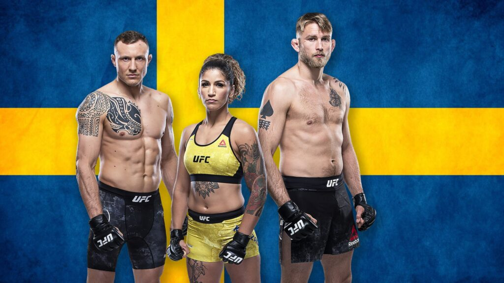Svenskmatcherna på Fight Island!