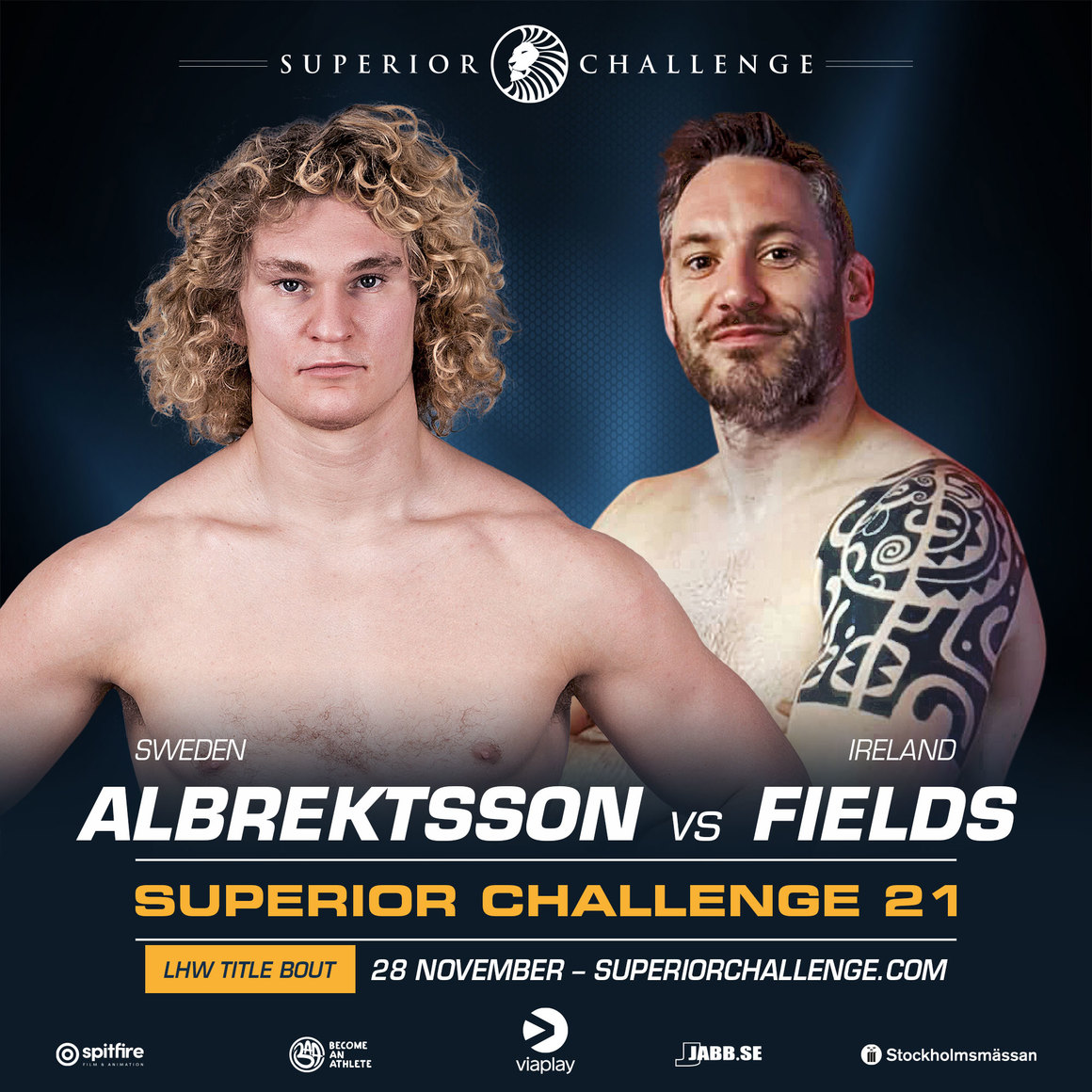 "Superior Challenge 21: ""Kung"" Karl i titelmatch mot Fields"