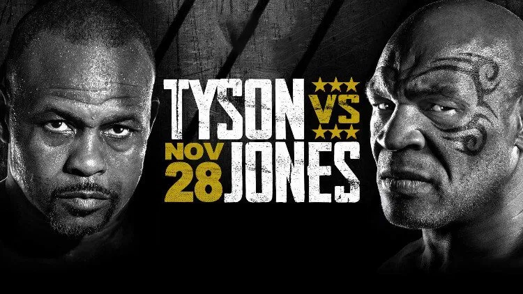 Legendarerna Mike Tyson vs Roy Jones Jr gör upp den 28e november