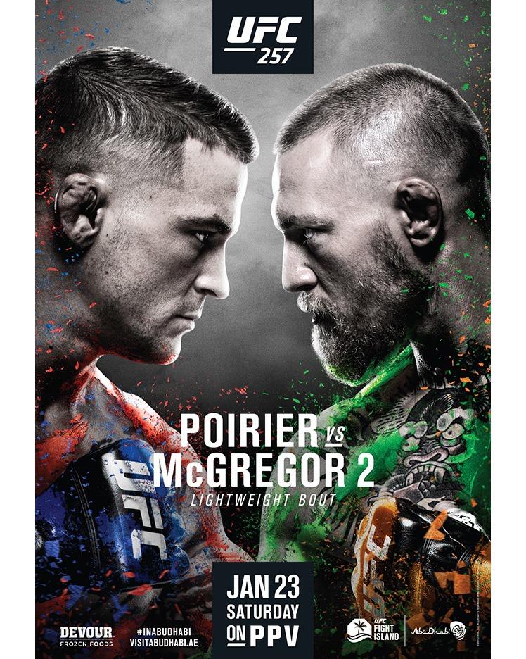 Uppsnack med Book: UFC 257 – Poirier vs. McGregor 2