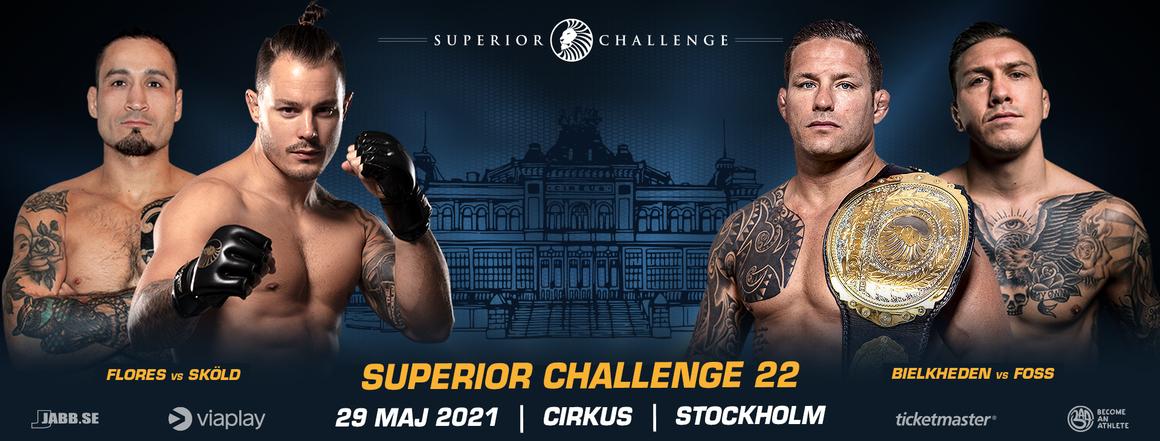 Ny Superior Challenge gala den 29:e maj