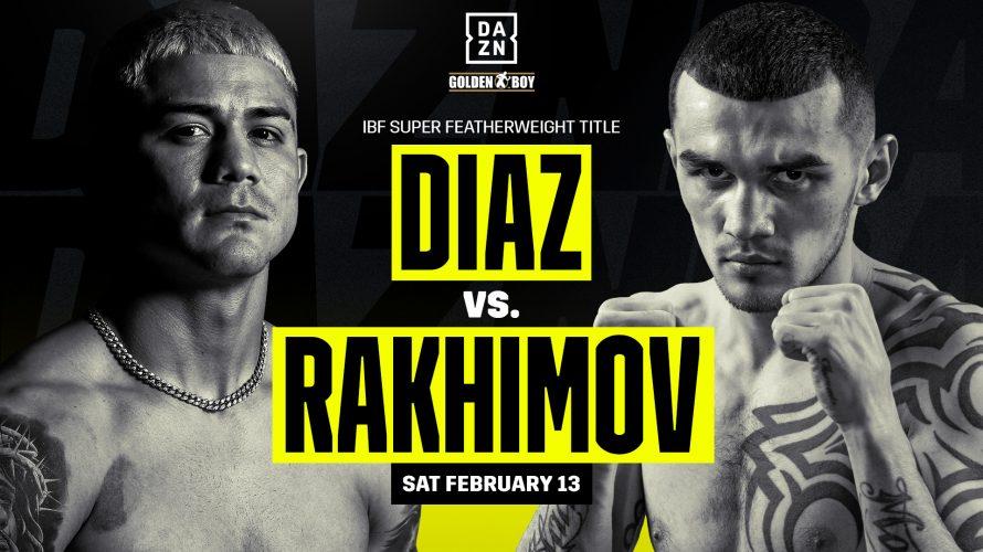 INFÖR: Diaz vs. Rakhimov – Två VM-titlar på spel