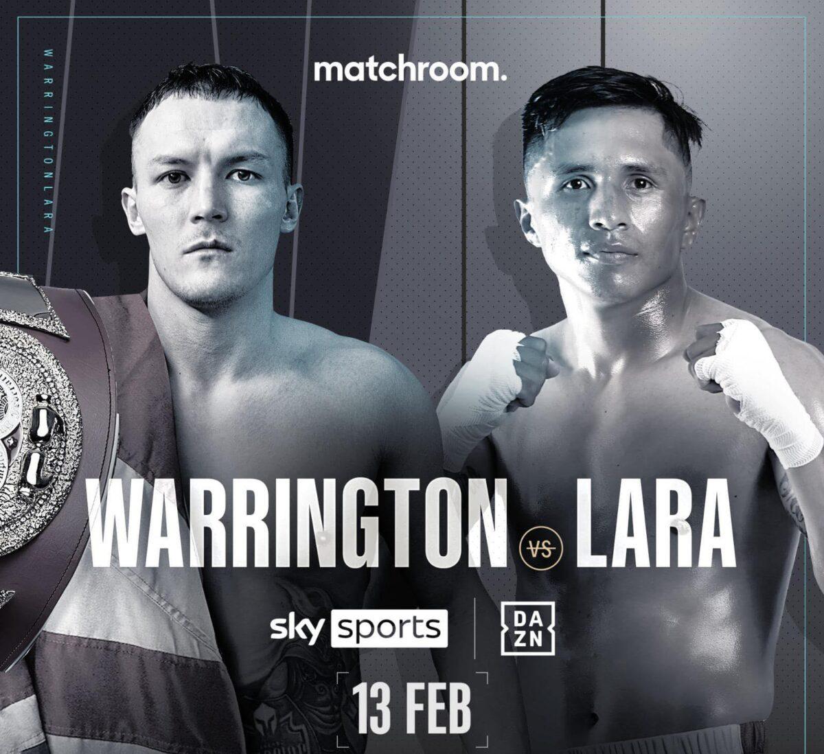 INFÖR: Warrington vs. Lara – En stjärna utan bälte