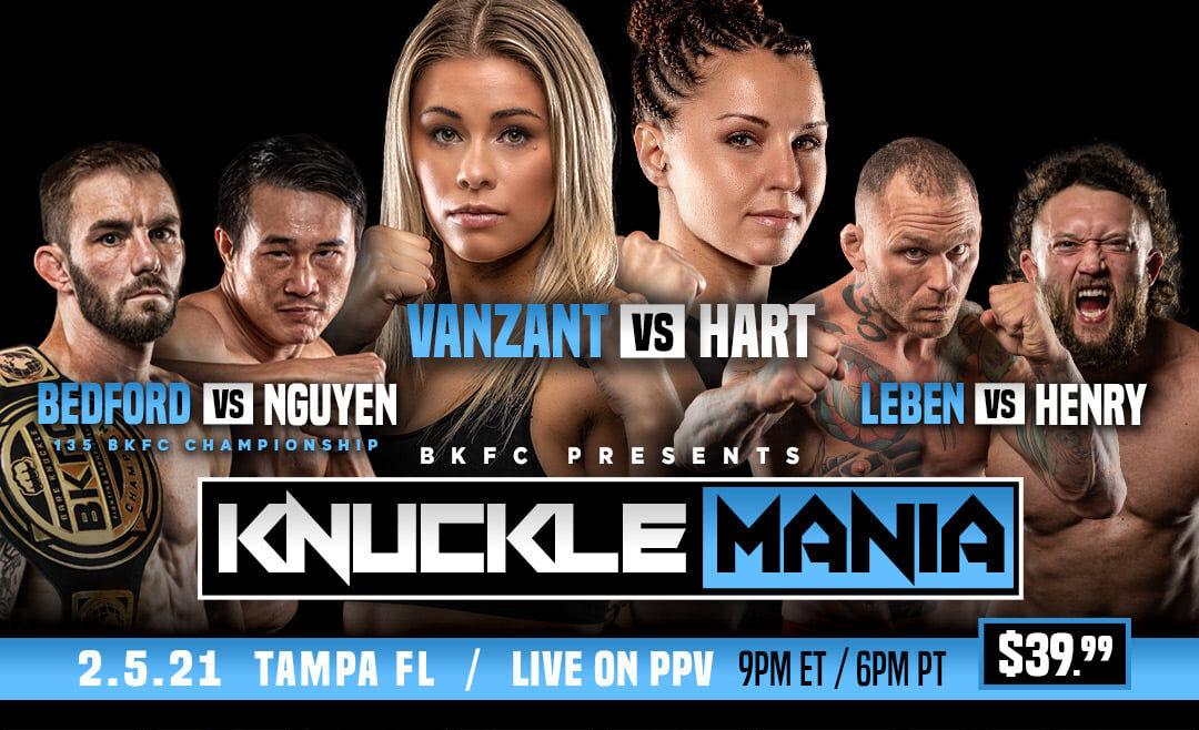 Bare Knuckle Boxing – Paige VanZant debuterar