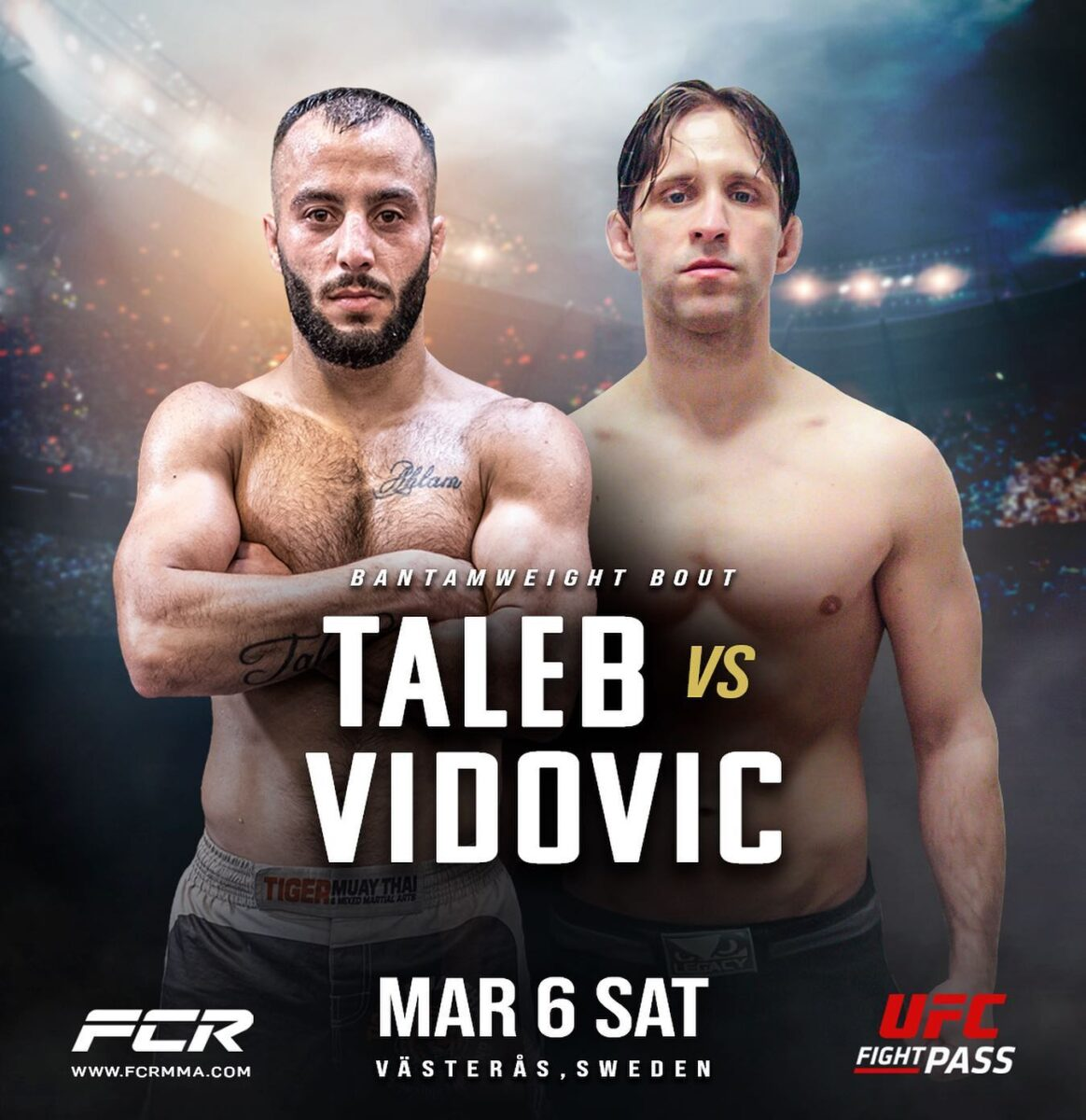 FCR 8: Ali Taleb vs. Renato Vidovic blir CO-main