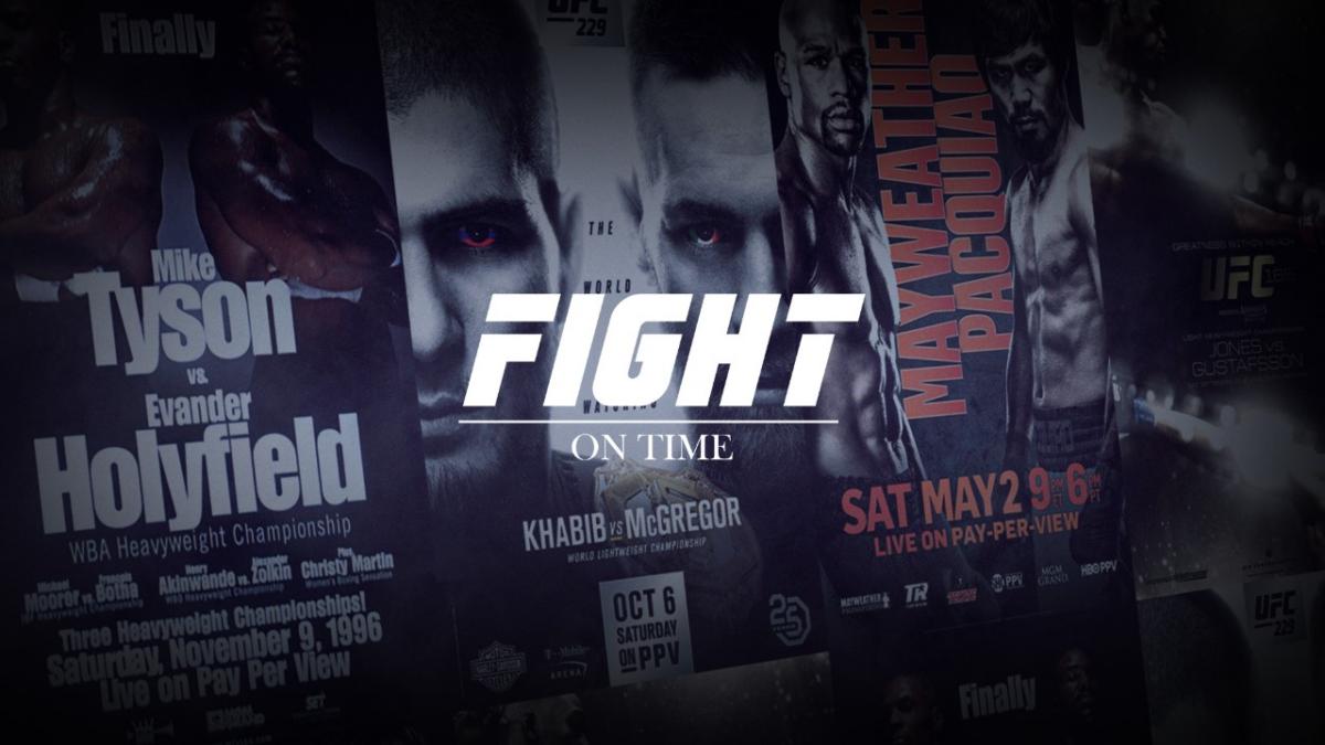 FIGHT ON TIME – Appen som ska öka engagemanget för UFC och Boxning i Sverige