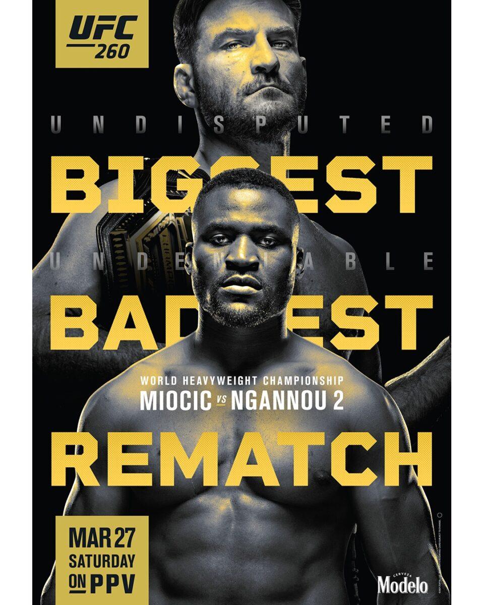 KRÖNIKA: UFC 260 -Ngannou blir inte världsmästare!