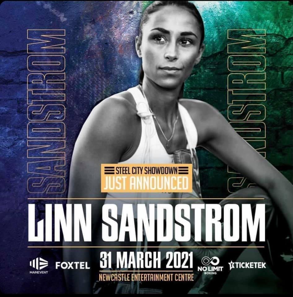 Svenske boxardoldisen som boxar förmatch på Tszyu vs Hogan-galan i Newcastle, New South Wales, Australien i morgon onsdag 31/3