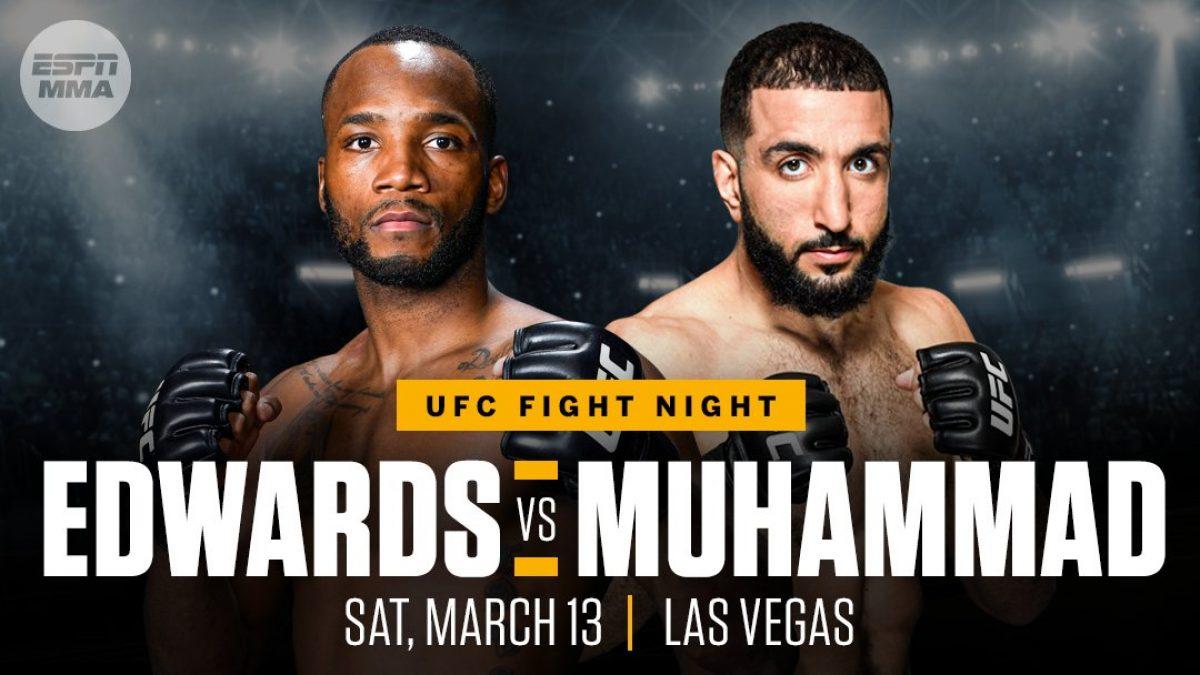 """Derséns tre punkter: INFÖR UFC Fight Night 187 – """"Edwards är tillbaka"""""""