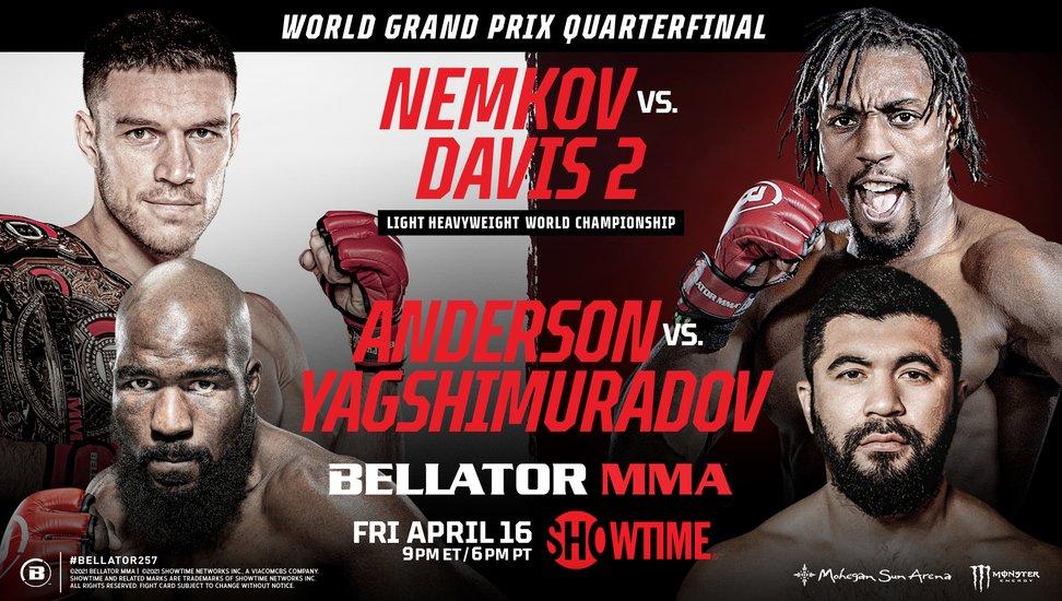 Karl Albrektsson på förmatchprogrammet till Bellator 257 på Showtime i morgon – möter ryske Viktor Nemkov