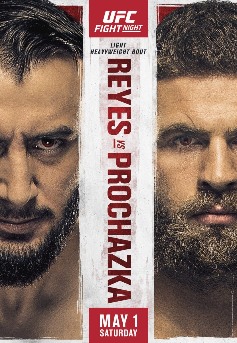 INFÖR: UFC on ESPN 23 – Reyes vs. Prochazka